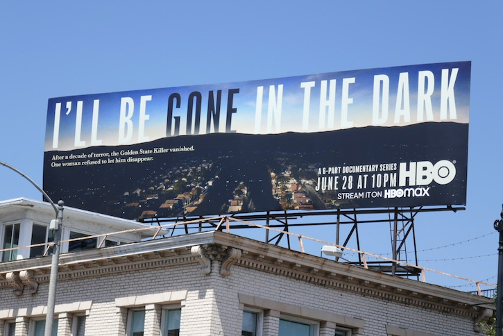 Ill Be Gone In The Dark series billboard