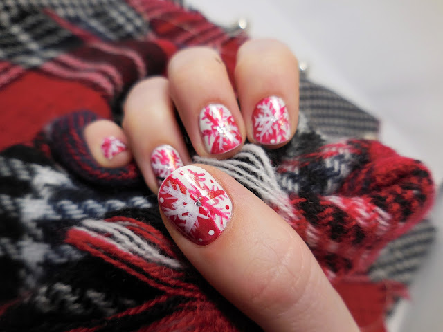 winter naildesign