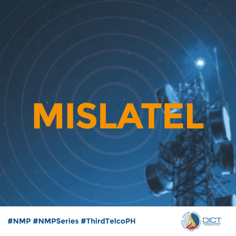 Mislatel, the third telco player confident to start network rollout next month