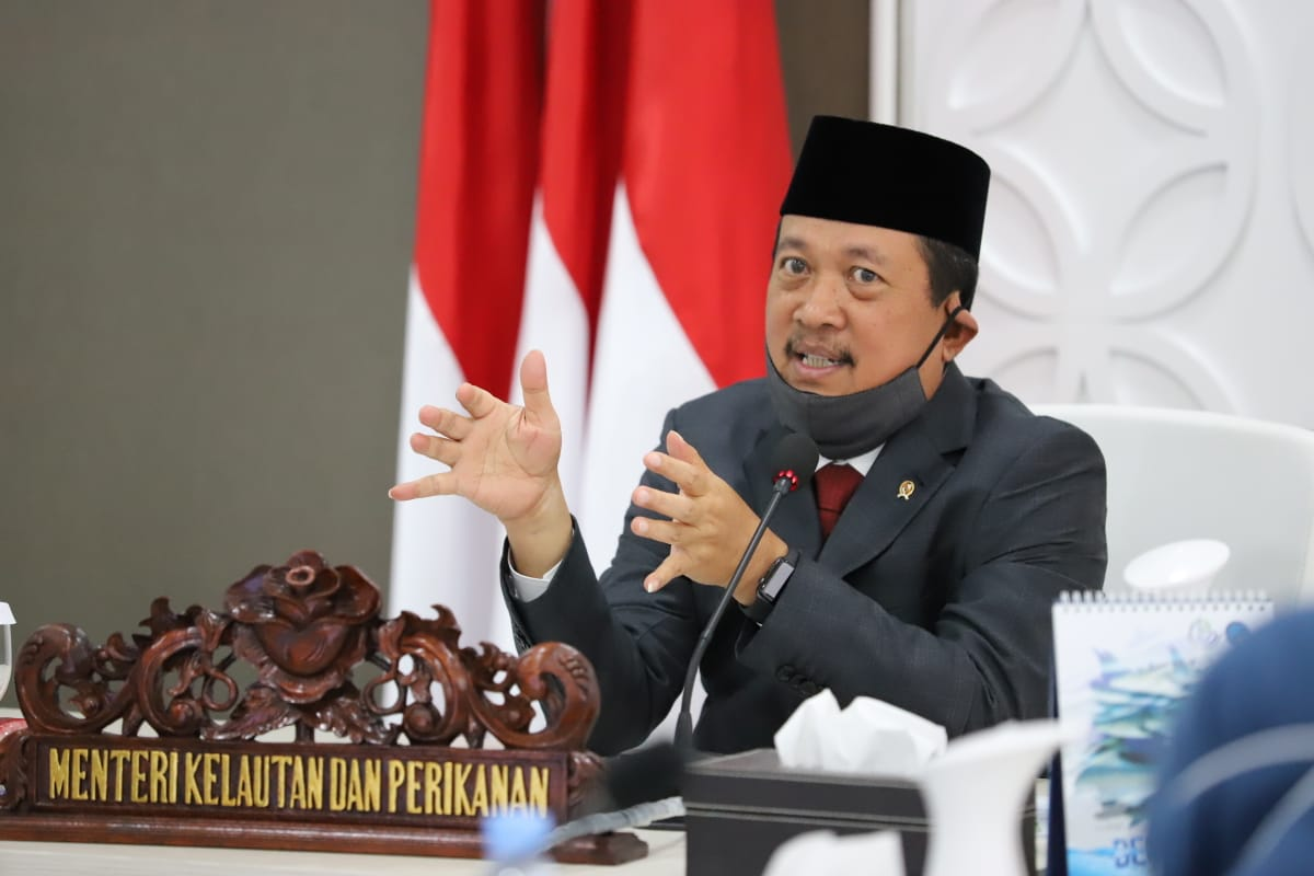 Logo KKP Diduga Plagiat, Menteri Sakti Wahyu Trenggono Perintahkan Segera Revisi