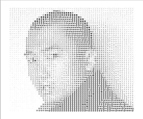 Self Portrait ASCII