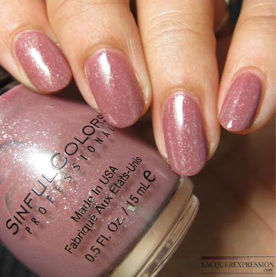 nail polish swatch of Gotta Terra Cotta by Sinful Colors sinfulcolors
