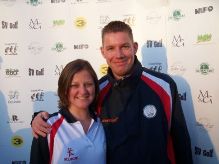 Emily and Richard Gottfried at the 2011 WMF Nations Cup in Stockholm, Sweden