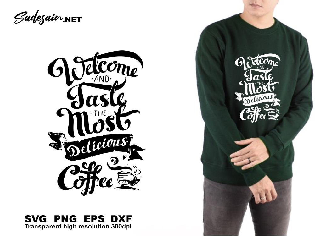 Delicious Coffee SVG Files