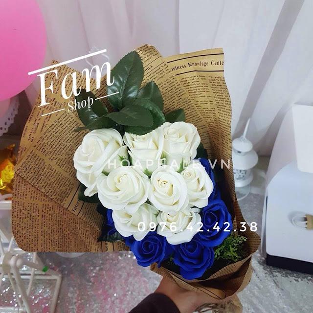 Hoa hong sap thom vinh cuu tai Hang Khoai