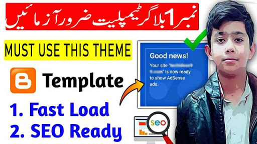 SEO Friendly Blogger Template 2020 | Blogger Template For AdSense Approval | Best Blogger Template