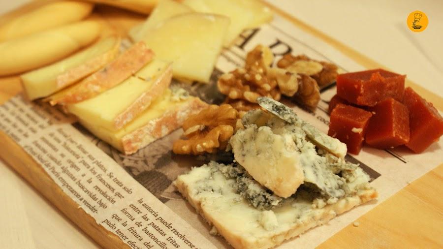 Tabla de quesos nacionales Bizikletak Madrid restaurantes