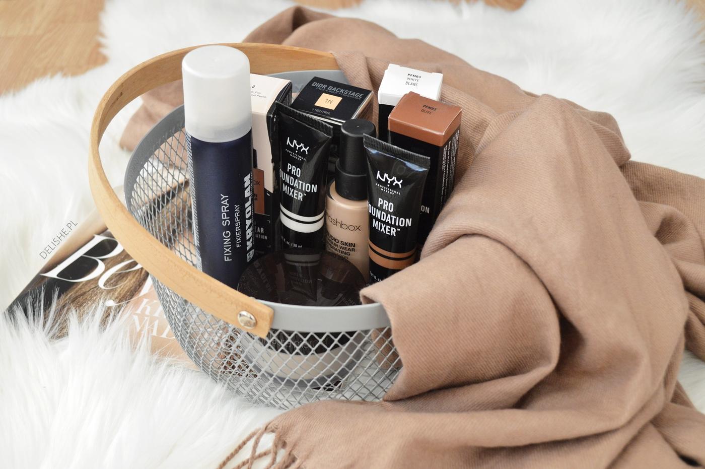 zakupy kosmetyczne z wyżej półki Sephora, Douglas, Dior, laura Mercier