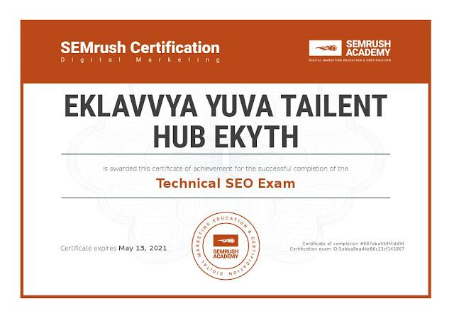 Eklavvya Yuva Tailent Hub EKYTH