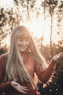 long hair fashion style for chubby girls
