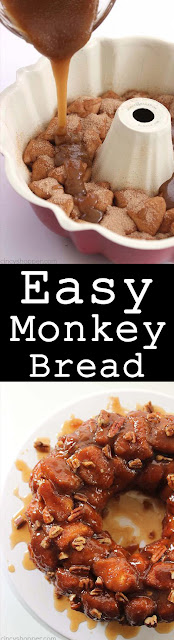 Easy Monkey Bread (Quick breakfast)
