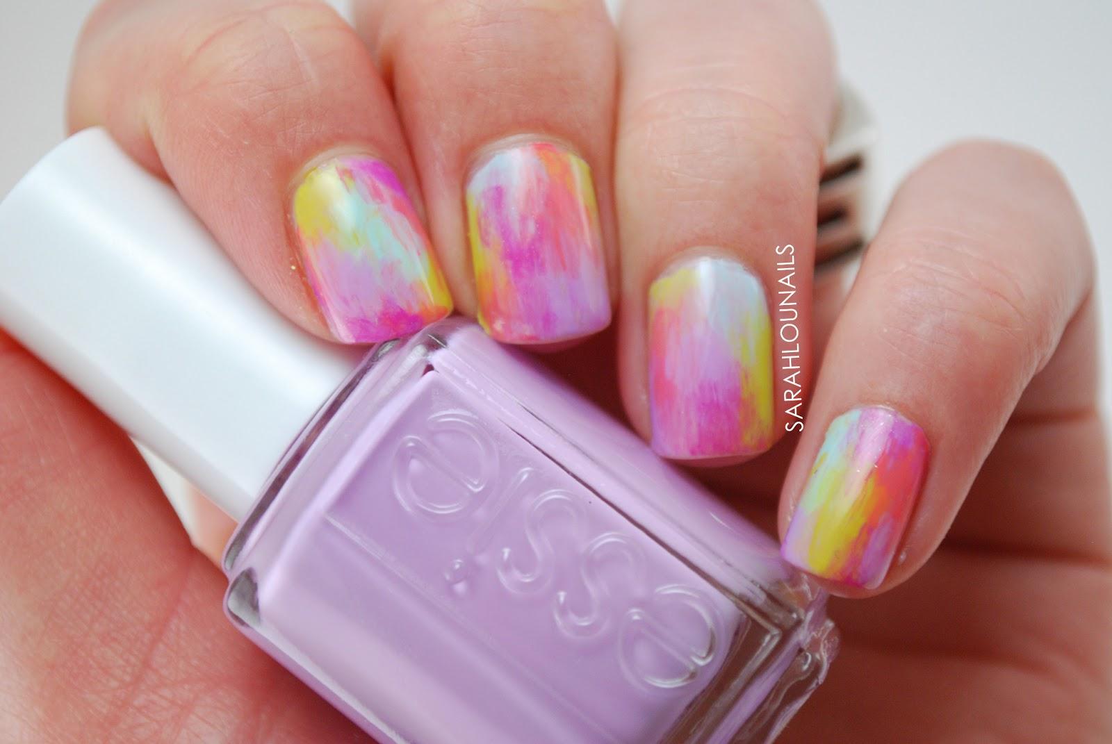 Sarah Lou Nails: Watercolor Nails!
