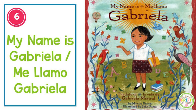 If you're looking for Hispanic Heritage Month Picture Books to share with your upper elementary students,  this list of biographical  books is for you.