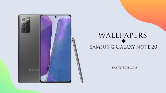 تحميل خلفيات سامسونج نوت 20 بجة عالية الدقة | Galaxy Note 20 Wallpapers