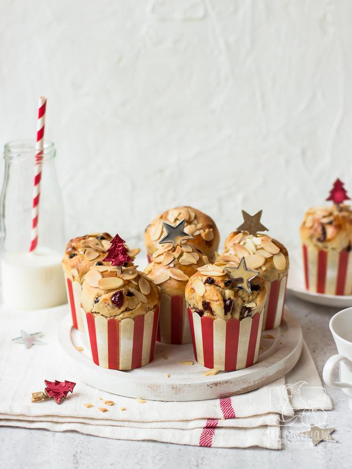 Muffinki panettone