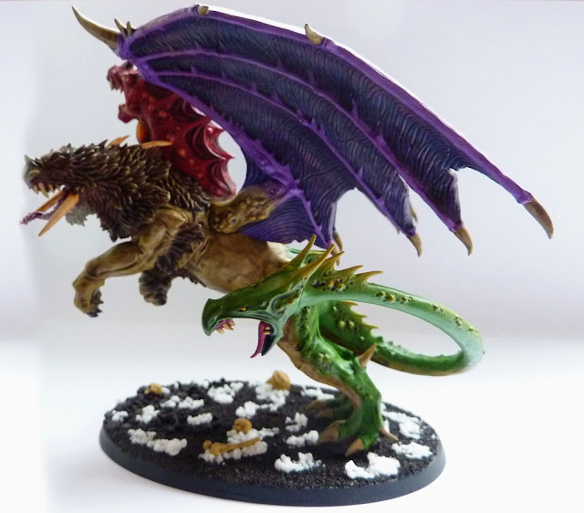 Chimera, Chaos Monster, Warhammer Age of Sigmar