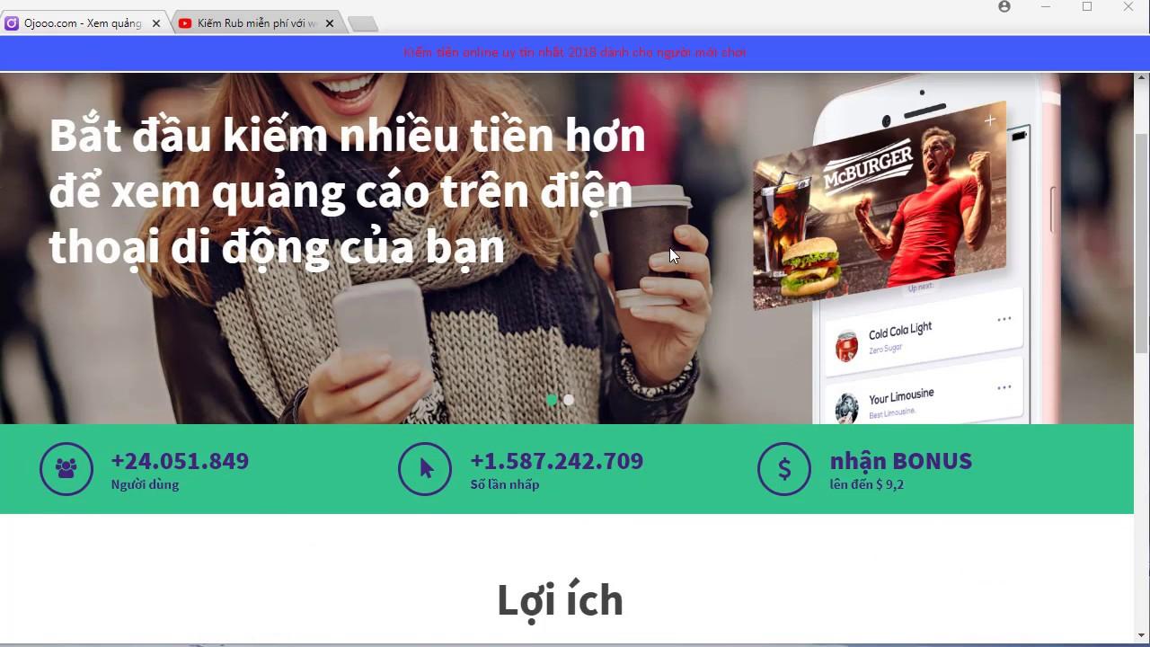 Xem quảng cáo – nghề tay trái hái ra tiền đòi hỏi sự kiên nhẫn