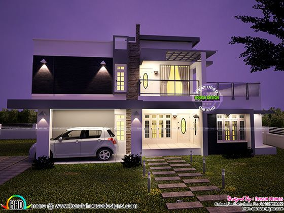 2633 square feet contemporary style home
