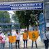 अखिल भारतीय विद्यार्थी परिषद ने किया सरकार के खिलाफ प्रदर्शन