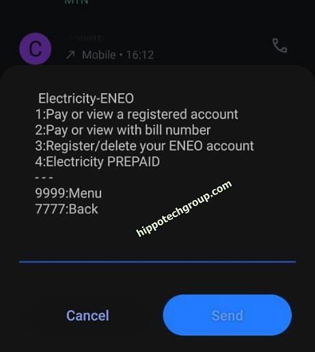 Buy Eneo Prepaid Electricity with Orange Cameroon