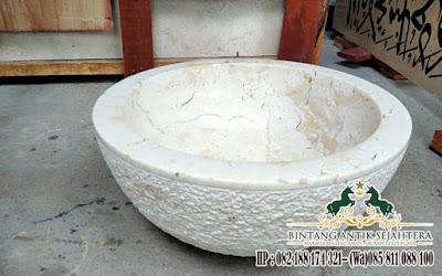 Produk Wastafel Marmer, Wastafel Marmer, Wastafel Marmer Bowl Tulungagung