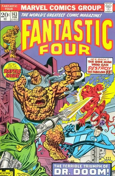 Fantastic Four #143, Dr Doom