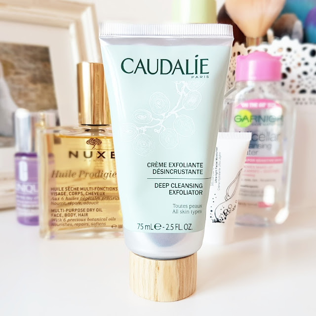The Caudalie Deep Cleansing Exfoliating Cream | A Must Have for Oily Skin