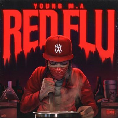 Young M.A - Red Flu (2020) - Album Download, Itunes Cover, Official Cover, Album CD Cover Art, Tracklist, 320KBPS, Zip album
