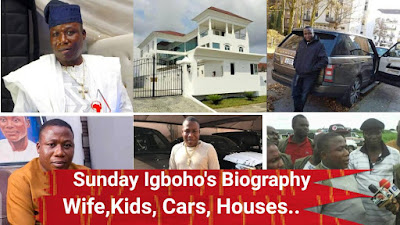 Everything You Need To Know About Sunday Igboho, Man Who Gave Fulani Herdsmen One Week To Leave Oyo State - Wives, Children, Cars, Houses, Career