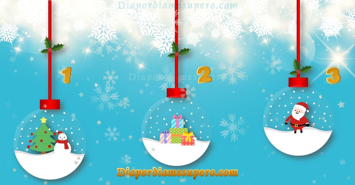 Test: Escoge una bola de nieve y descubre tu deseo de año nuevo