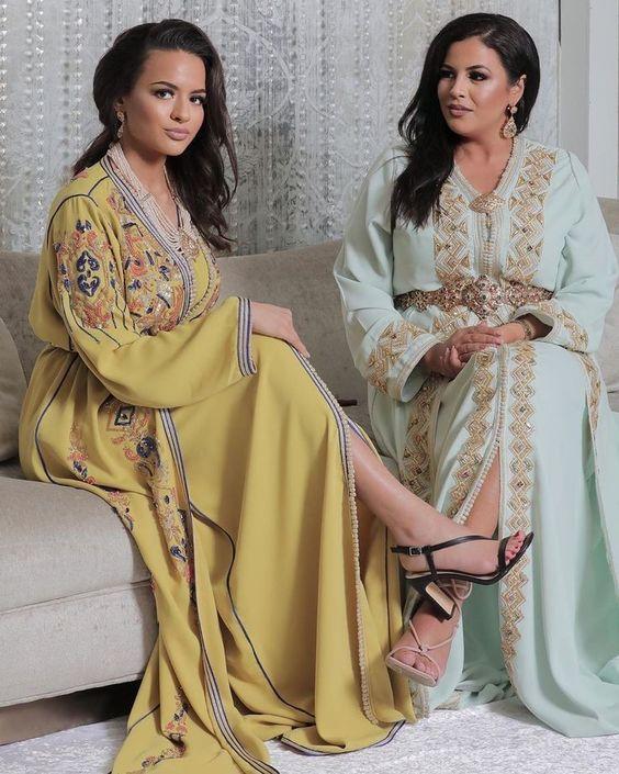caftan marocain de luxe pour mariage