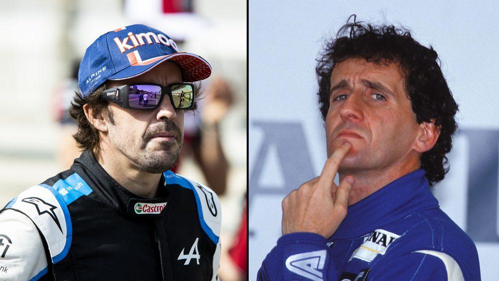Alain Prost 'não surpreendeu' Alonso ainda não 100%, já que ele admite que estava 'completamente perdido' no retorno de 1993
