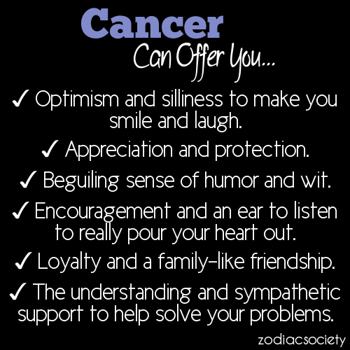 Zodiac Cancer Quotes Funny. QuotesGram | 7 Quote