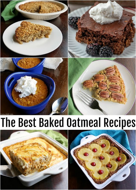 Soft and delicious baked oatmeal is the perfect way to start the day, especially when it's cold outside. These recipes are some of the best out there, they are super tasty, not too dense and inspired by desserts!