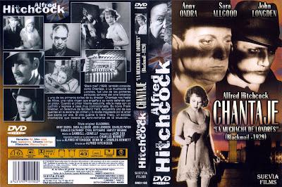 Carátula: Chantaje (La muchacha de Londres) (1929) Blackmail - ver online