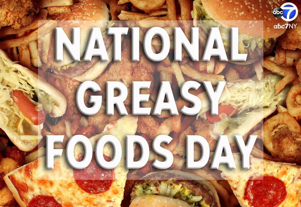 National Greasy Foods Day Wishes Images