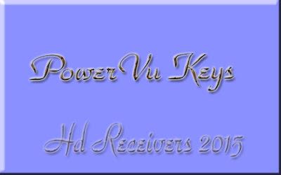 PowerVu Keys Update For China Hd Receivers Neosat,Starsat,Echolink