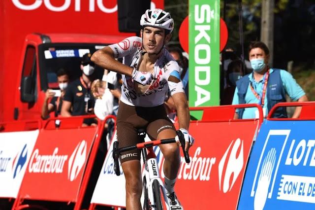 Vuelta 20ο ετάπ: Νίκη για τον Champoussin, παρέμεινε στα κόκκινα ο Roglic