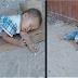 Niño encontrado durmiendo con cartón en un mercado y la historia de supervivencia que te hará estallar en lágrimas
