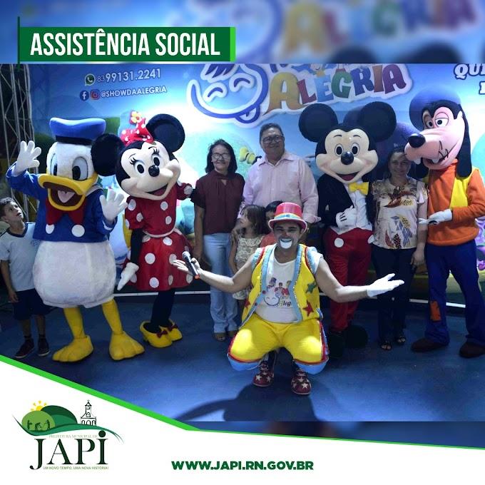 Semana do dia das crianças tem extensa programação em Japi