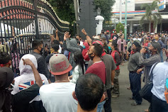 Ratusan Seniman di Kabupaten Pati Unjuk Rasa Tuntut Pemberian Izin Pentas