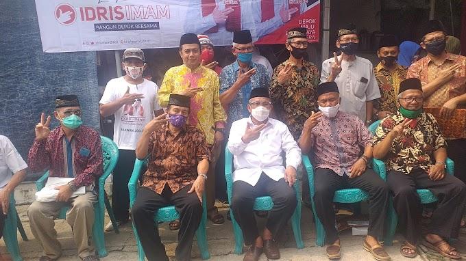 Warga RW 06, Kelurahan Mekarsari Deklarasi Dukung Idris