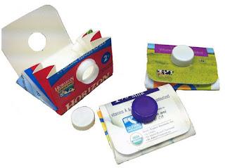 Membuat  Dompet Dari Kotak Susu