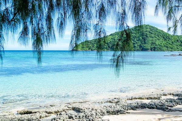 View of Island in Fiji