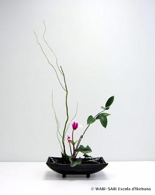 Ikebana-Moribana