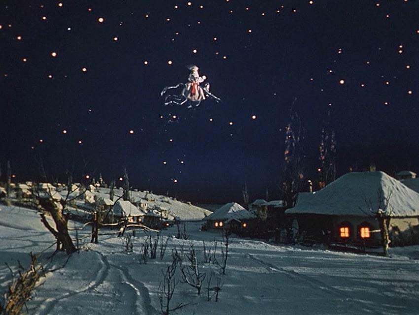 Retro Fever - Обзор фильма «Вечера на хуторе близ Диканьки» («Ночь перед Рождеством», 1961) - Кадр №3