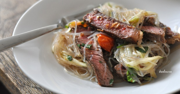 Asian Steak And Noodle Salad Recipe