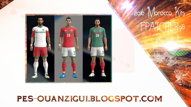PES 2013 Morocco GDB kITS 2015\2016 By Fpatcher98