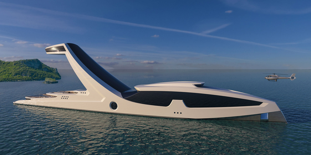 Шикарная яхта для вечеринок и отдыха