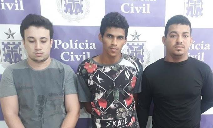 Jacobina: Polícia Civil prende grupo criminoso que usava casa como depósito de drogas